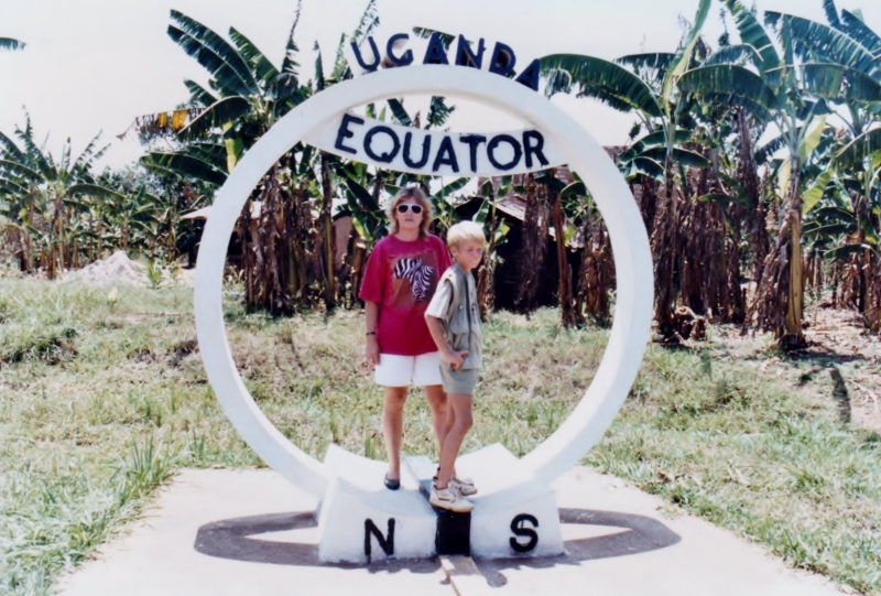 At the Equator in Uganda (2)
