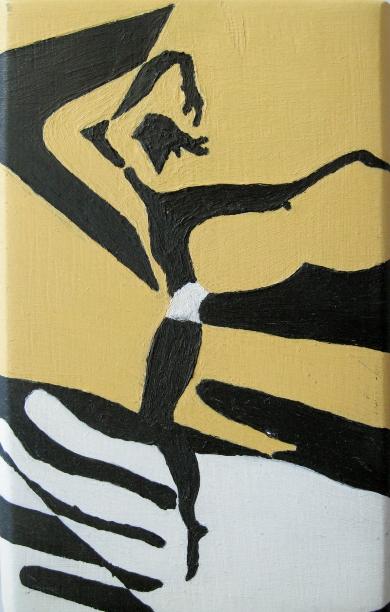 Dancer - a miniature painting