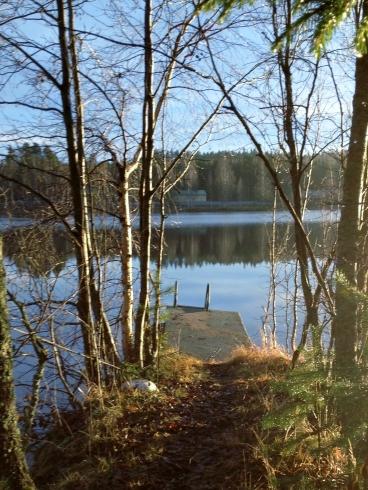 late fall at the lake