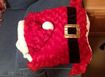 My Santa costume