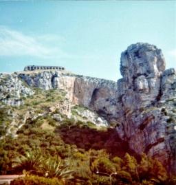 Ruins close to Taormina Italy