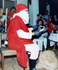 Santa in Zambia