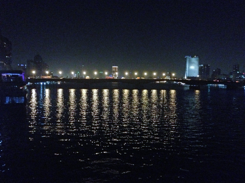Cairo Nile at night edited