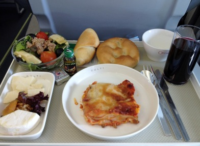 Airplane meal