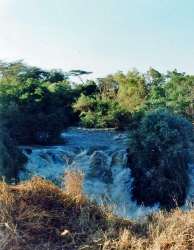 Ethiopia Awash River falls