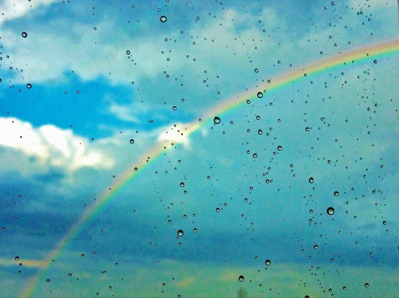 rainbow in the window 2 edited