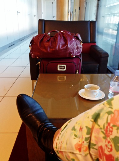 waiting in the lounge A