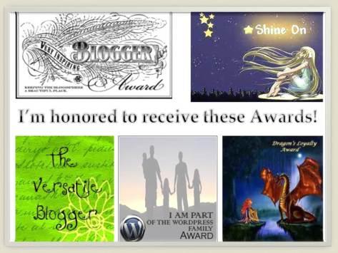 Awards April May 2013