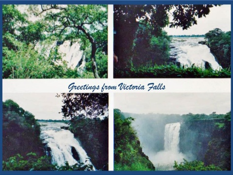 Greetings from Victoria Falls