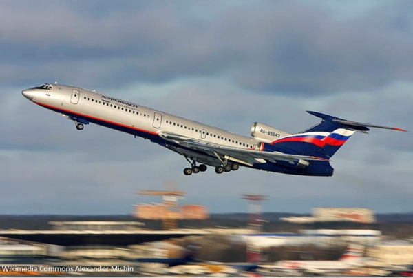 An old Tupolev aircraft