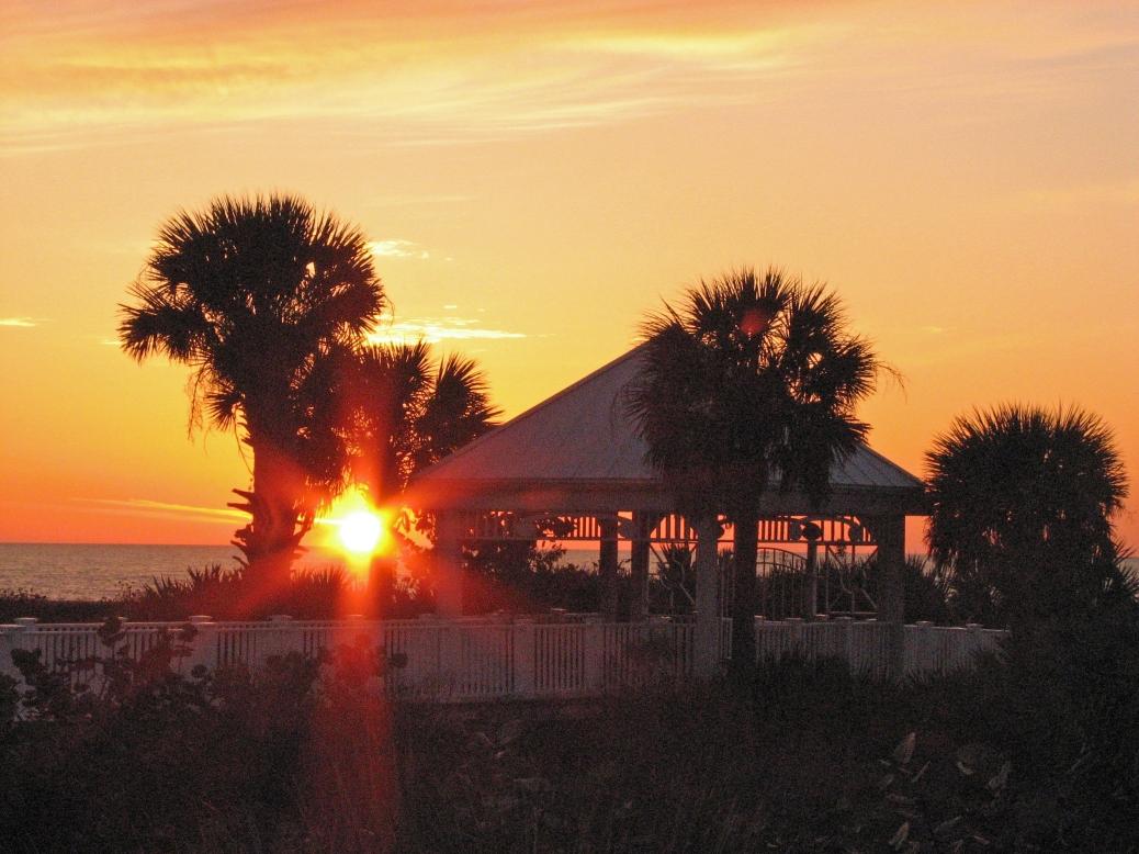beach walk at sunset mar 31