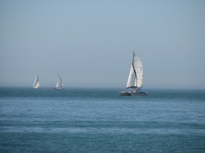 ...watch the sail boats..