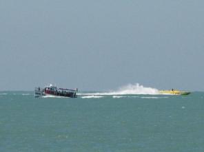 ..from dolphin tours to speeding on Sea Screamer