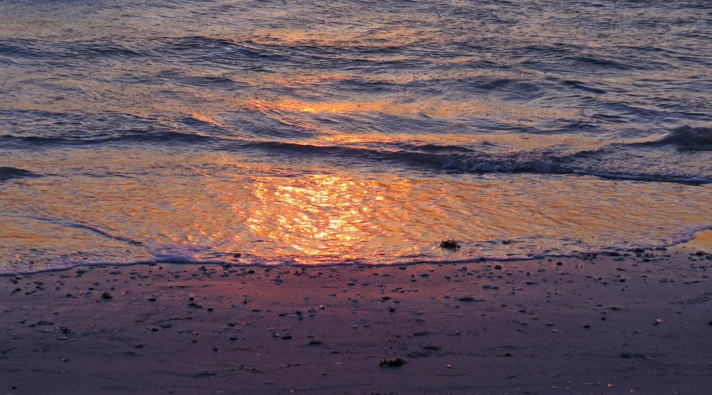 sunset beach Gulf of Mexico
