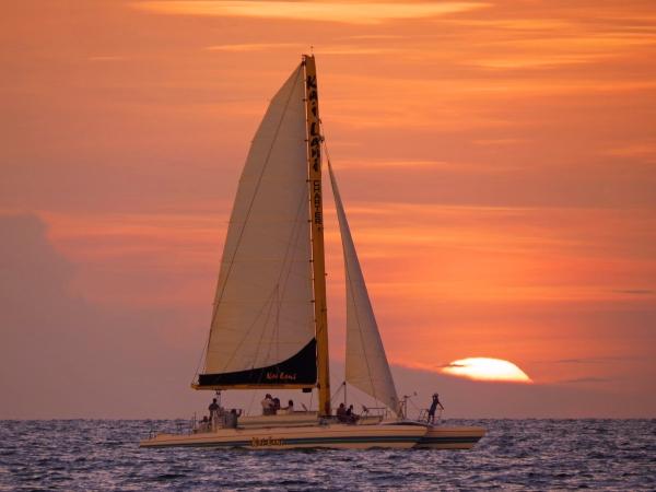sailboat at sunset c