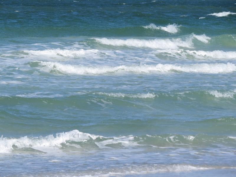 ocean waves on the beach halloween