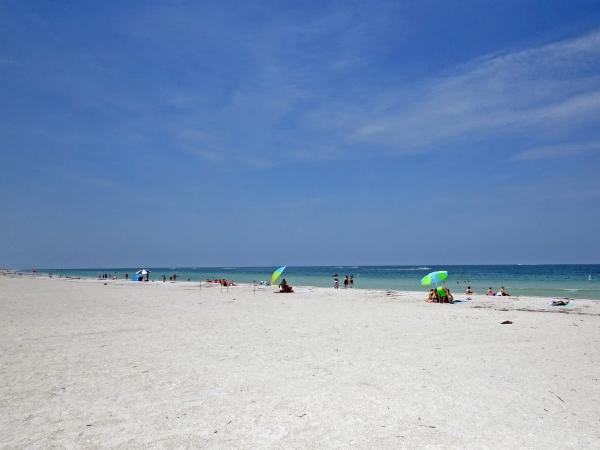 Miles long Sand Key Beach clearwater fl