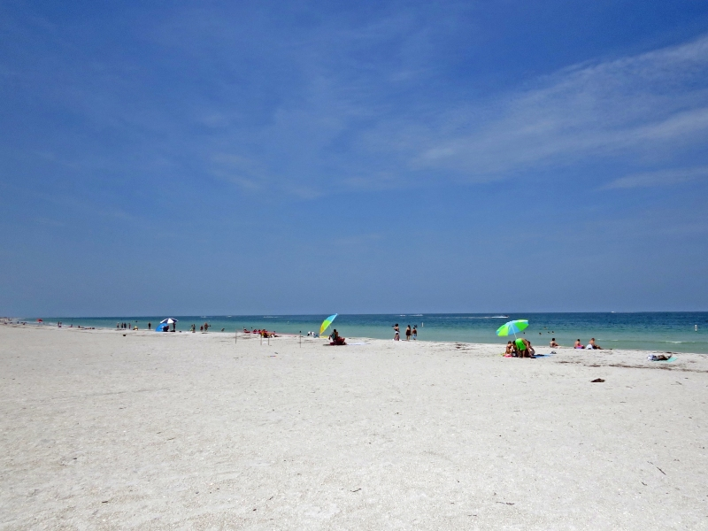 Miles long Sand Key Beach clearwater fl