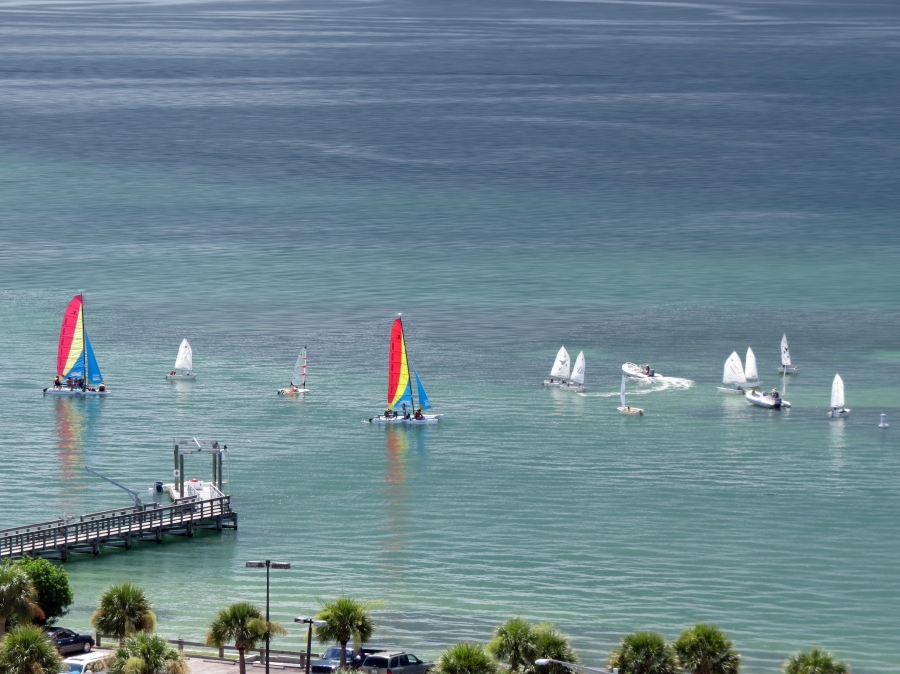 summer fun at sailing center sand key clearwater fl