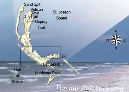 Map of the Honeymoon Island