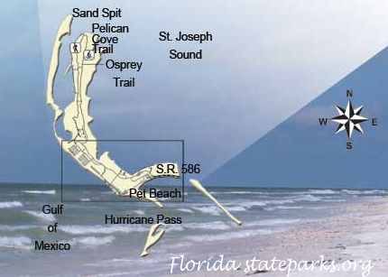 Map of the Honeymoon Island