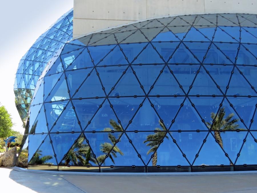 """the Dali Museum glass bubble """"enigma"""""""