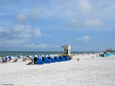 Clearwater Beach at pier 60