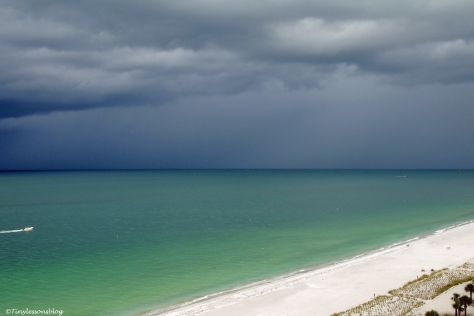 storm approaching the beach WPC
