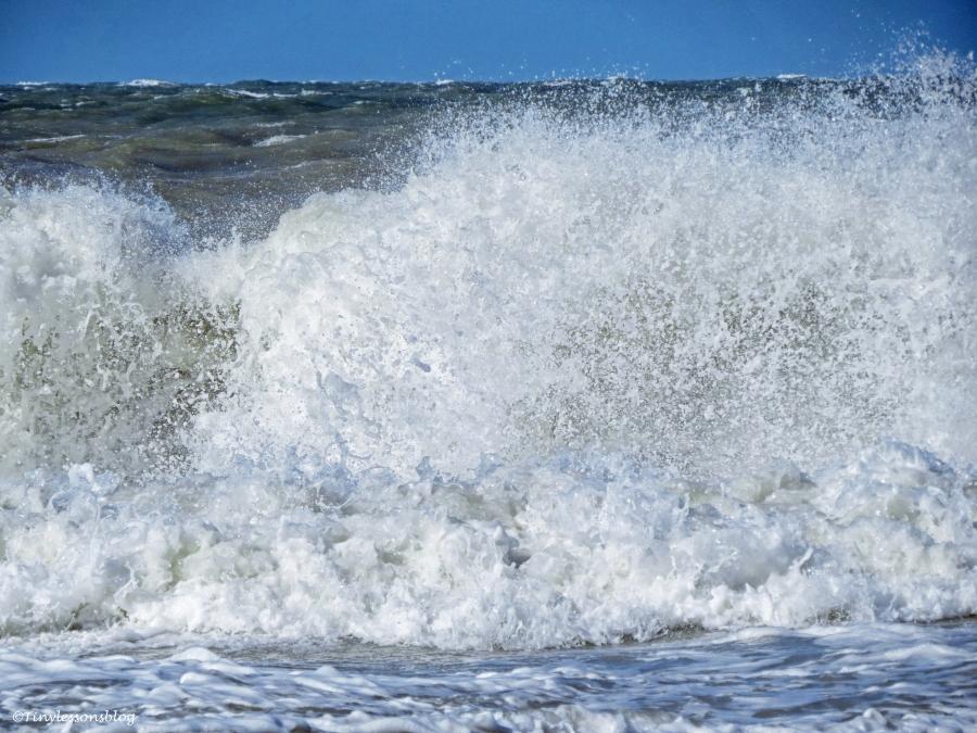 stormy ocean waves WPC