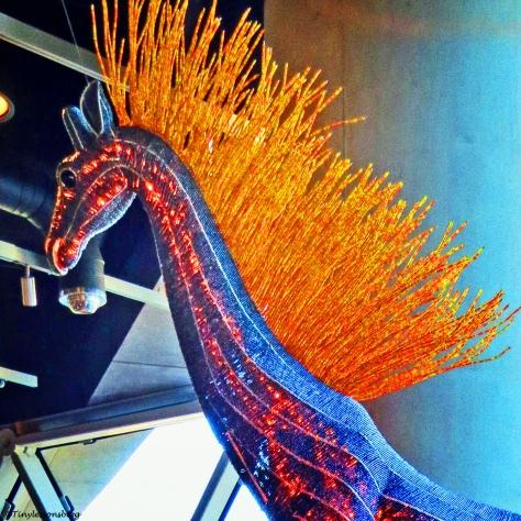fire horse at Dali Vivid