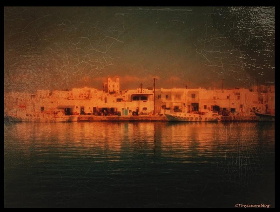 oil paint greece M