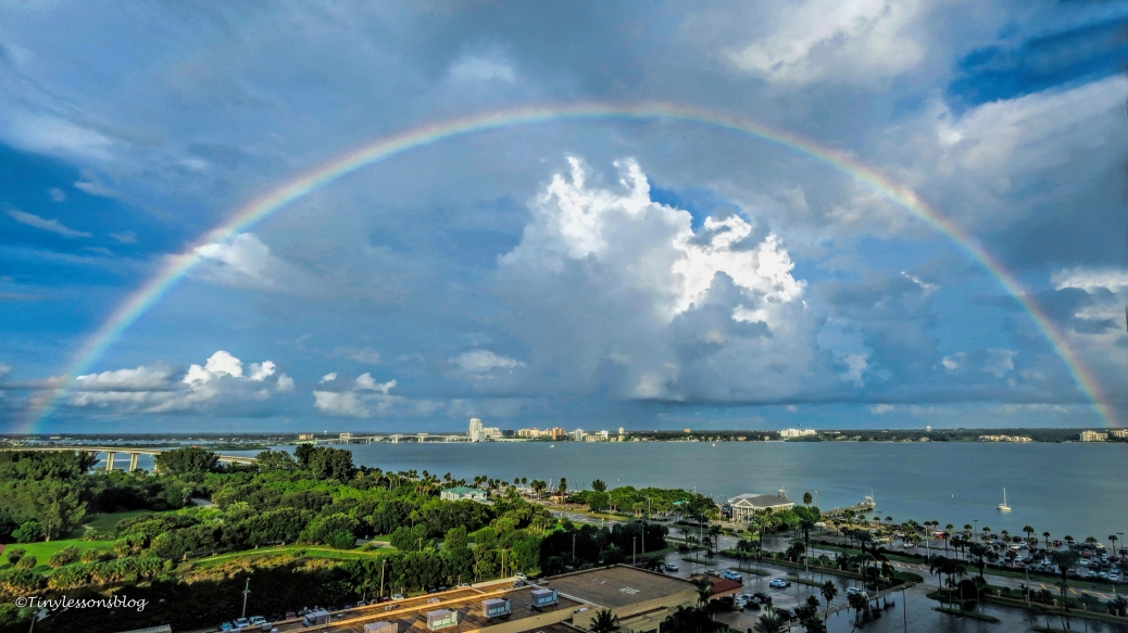 rainbow over clearwater bay ud25 bb
