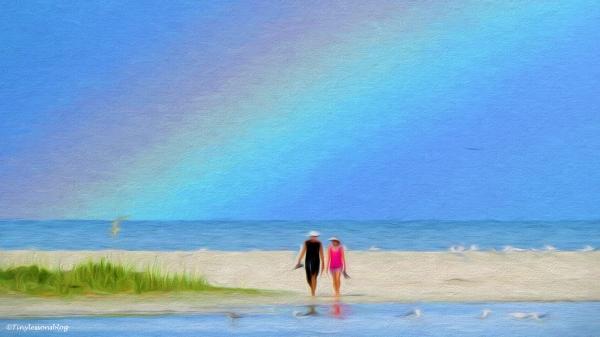 beach walk paint 2 16x9