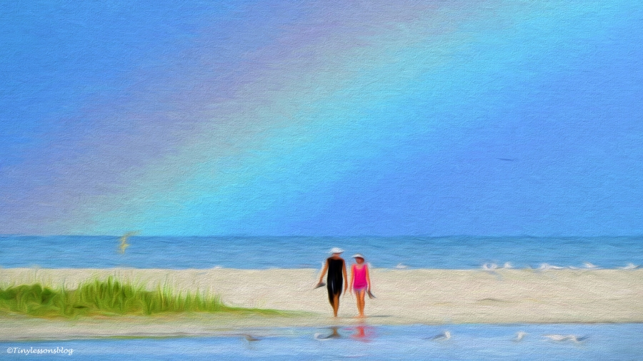 beach walk paint 2 16x9
