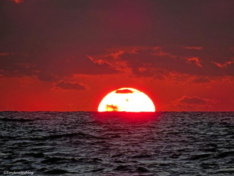 sunset on sat ud26
