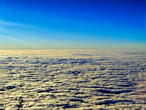 scattered clouds over London FI