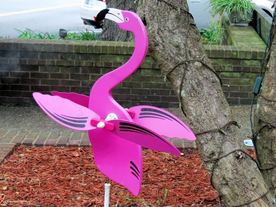 wooden flamingo Amelia Islans