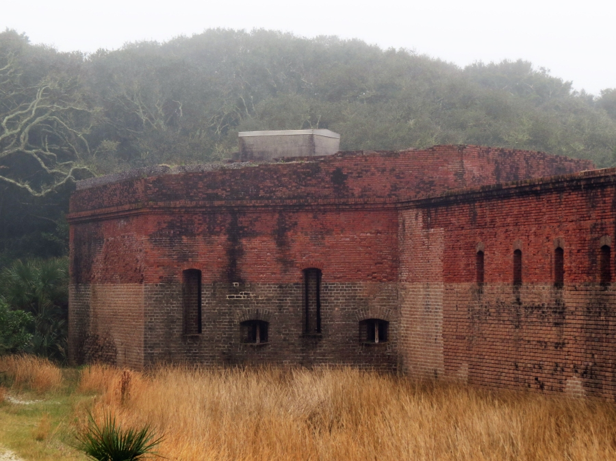 fort clinch outer wall