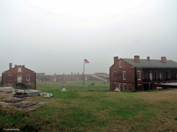 fort clinch buildings