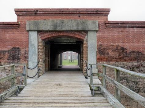 fort clinch draw bridge