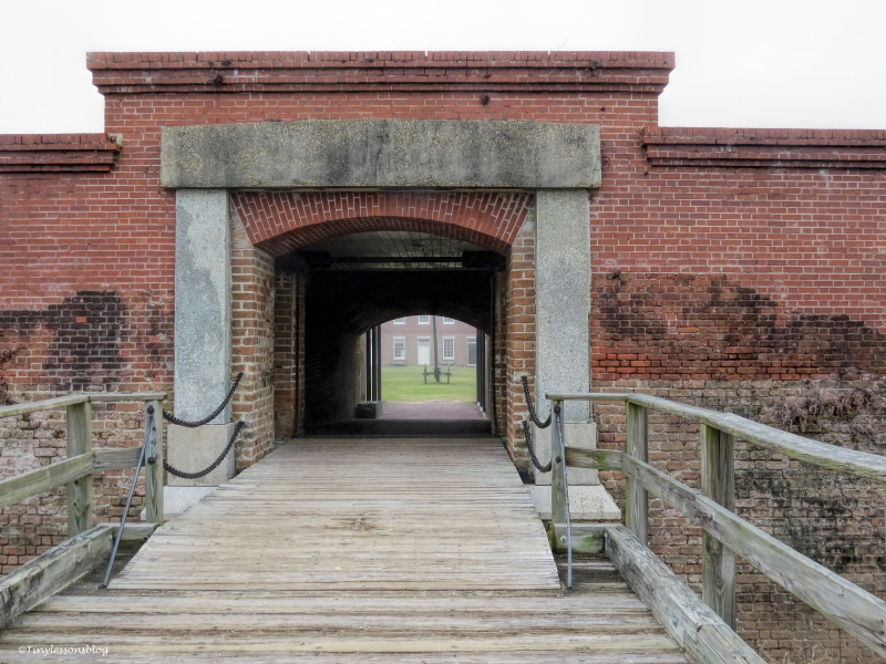 fort clinch draw bridge