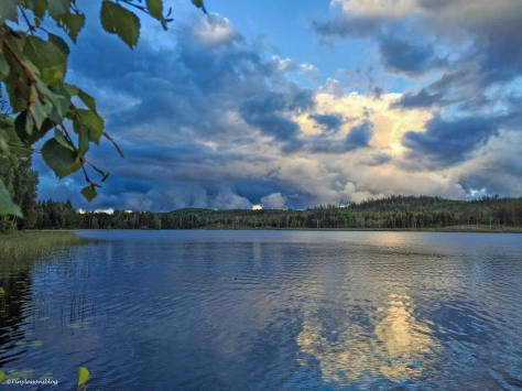 blue hour 2 at lake Finland Aug16 UD75