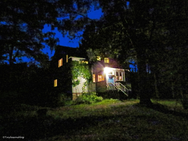 Mikkos house at night 2 Finland Aug16 UD75