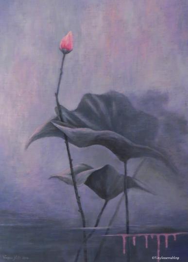 painting 1 by Vappu Kiili Leporanta Finland Aug16 UD75