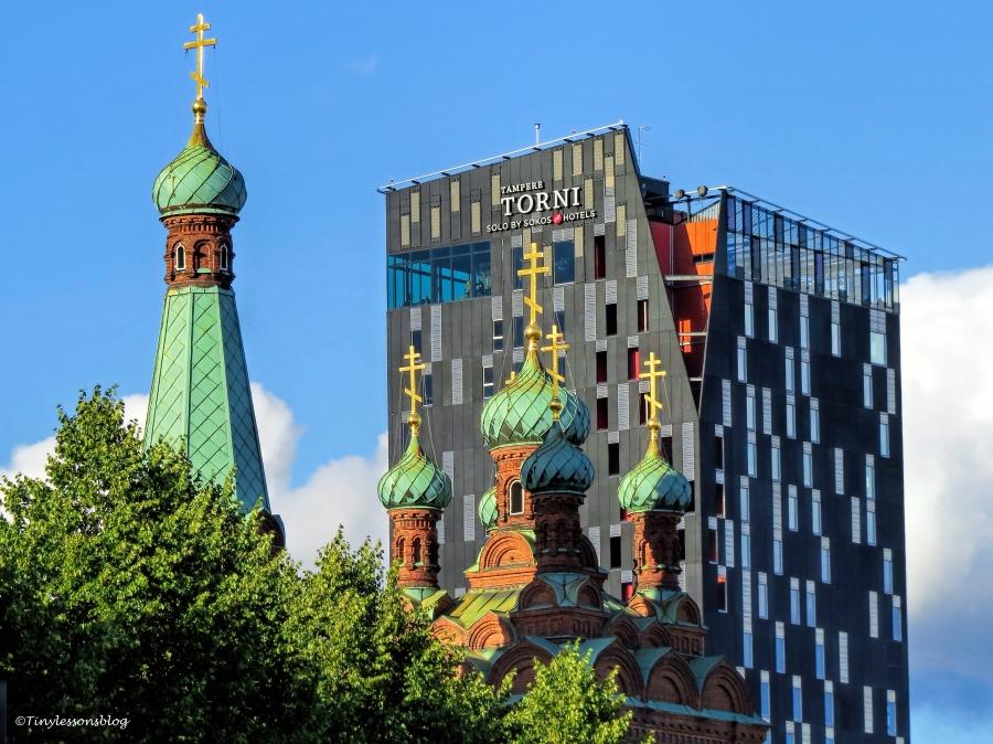 Tampere Orthodox Church and Hotel Torni UD75