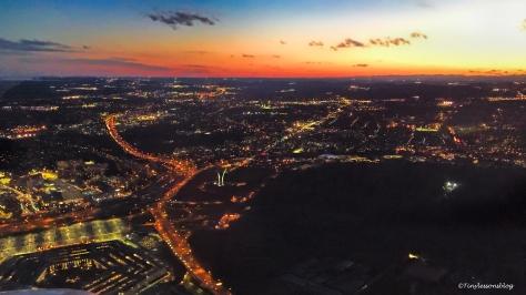 sunset over washington dc ud116