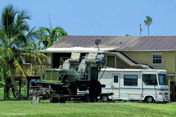 swamp buggy in Everglades city ud123