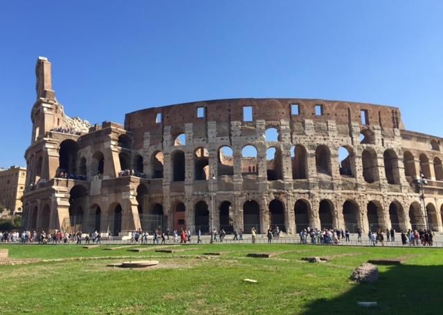 Colosseum outside