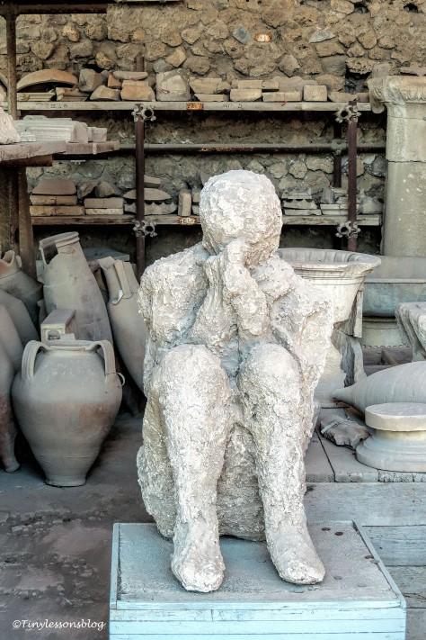 a man in Pompeii