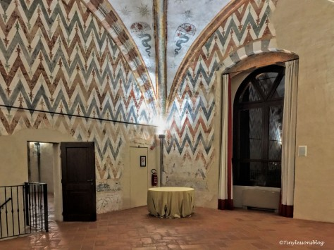 a room at Castello Visconteo Milan